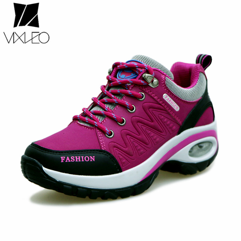 VIXLEO women sneakers breathable air cushion running shoes for women high quality black sport shoes woman 2018 jogging shoes цена
