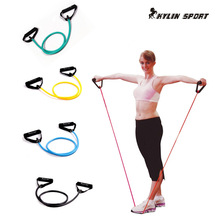 resistance workout yoga belts tubes stretch fitness pilates for wholesale and free shipping