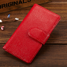 MELOVO Men's Women 's Card Holders Wallets Genuine Leather