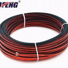 18 AWG Электрический провод с силиконовой оплеткой 2 проводника параллельная проволочная линия мягкие и гибкие бескислородные нити луженая медная проволока