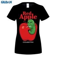 GILDAN 100 Cotton O Neck Printed T Shirt Red Cigarettes T Shirt Tarantino Fake Brand For