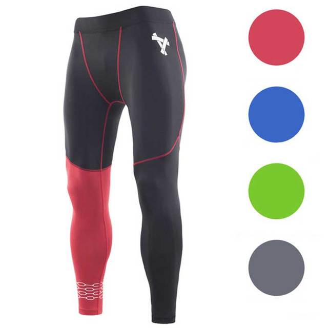 Men Running Tights Pro Compress Yoga Pants GYM Exercise Fitness Leggings Workout Basketball Exercise Train Sports Clothing M1852
