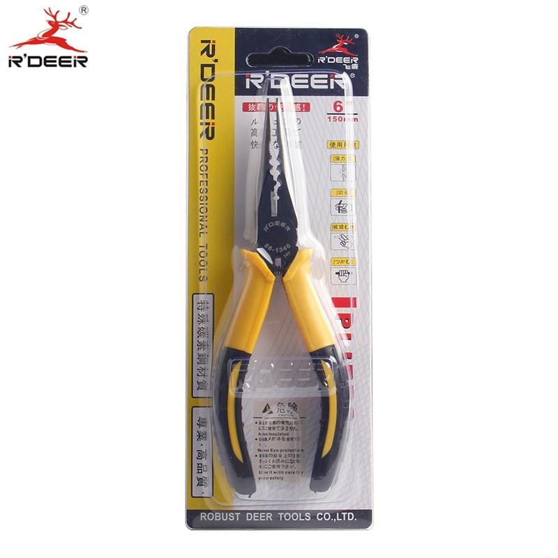 RDEER 6 '' / 150mm universalios ilgos nosies replės, skirtos - Rankiniai įrankiai - Nuotrauka 6