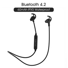 Слог SF801 Bluetooth V4.2 стерео наушники для телефонов и музыки/Беспроводная гарнитура слог SF801 спортивные стерео наушники