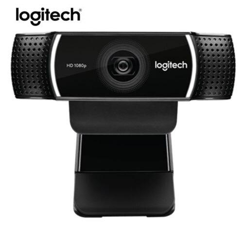 100% Original Logitech C922 PRO Autofocus Webcam Built-in Microphone Full HD Anchor Camera With tripod a4 tech pks 730g hd webcam camera built in microphone mac laptop pc camera