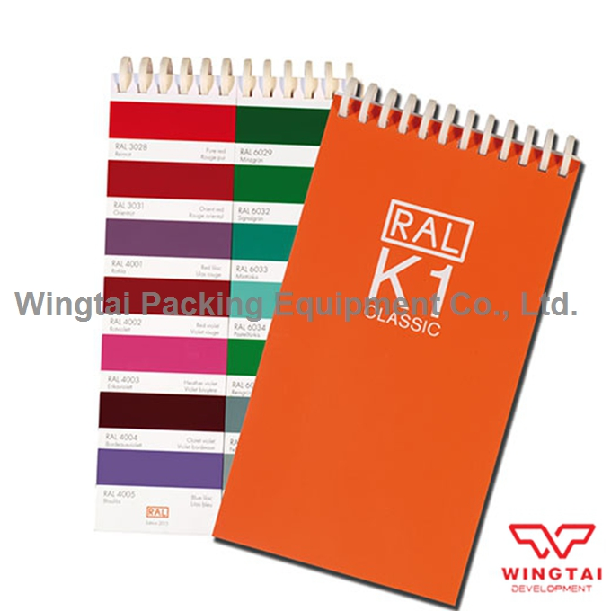 210 colors New German RAL K1 Classic Colors Guide Ral Color Chip ral k7 paint color page chip card brochure