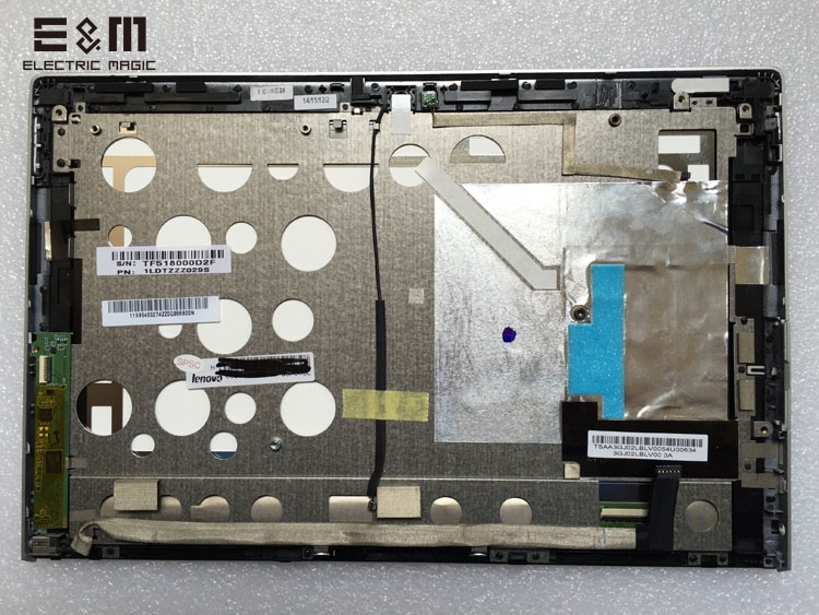 E&M 10 Inch Miix 2 10 LCD Module For Grade AAA Quality Display Screen Assembly With touch Digitizer for Miix2 Laptop PC