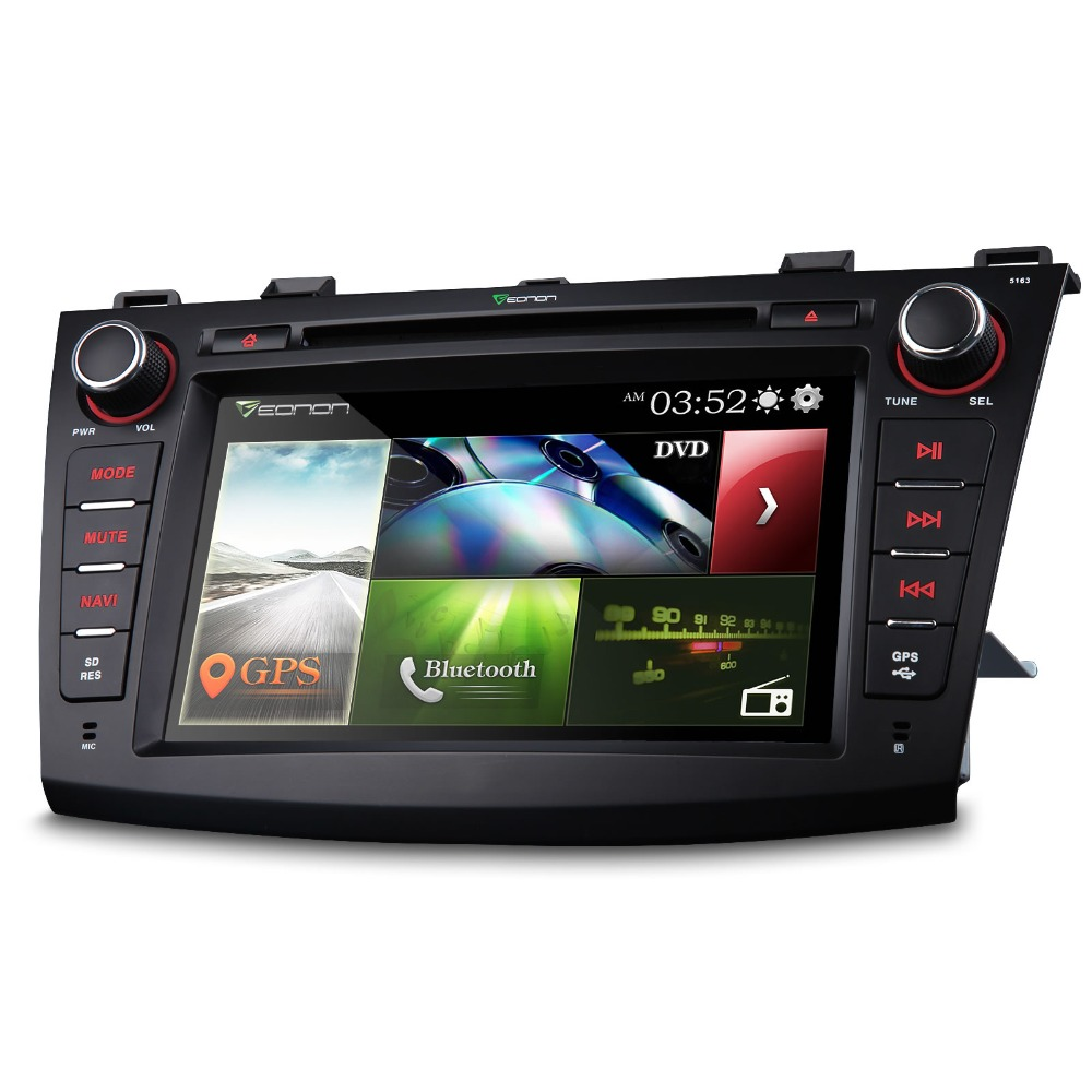 eonon 8 39 39 2 din car gps dvd player for mazda3 2010 2013. Black Bedroom Furniture Sets. Home Design Ideas
