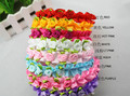 Baby Children hair band 40pcs/lot 8colors lovely rose flower garland girl headware hair ornaments accessory FREE SHIPPING
