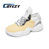 Women Sneakers Trend Running Shoes Breathable Jogging Gym Sport Shoes zapatillas de deporte para mujeres Female Sneakers CBYEZY