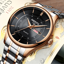 Rose Gold Men's Luxury Watch Top Brand