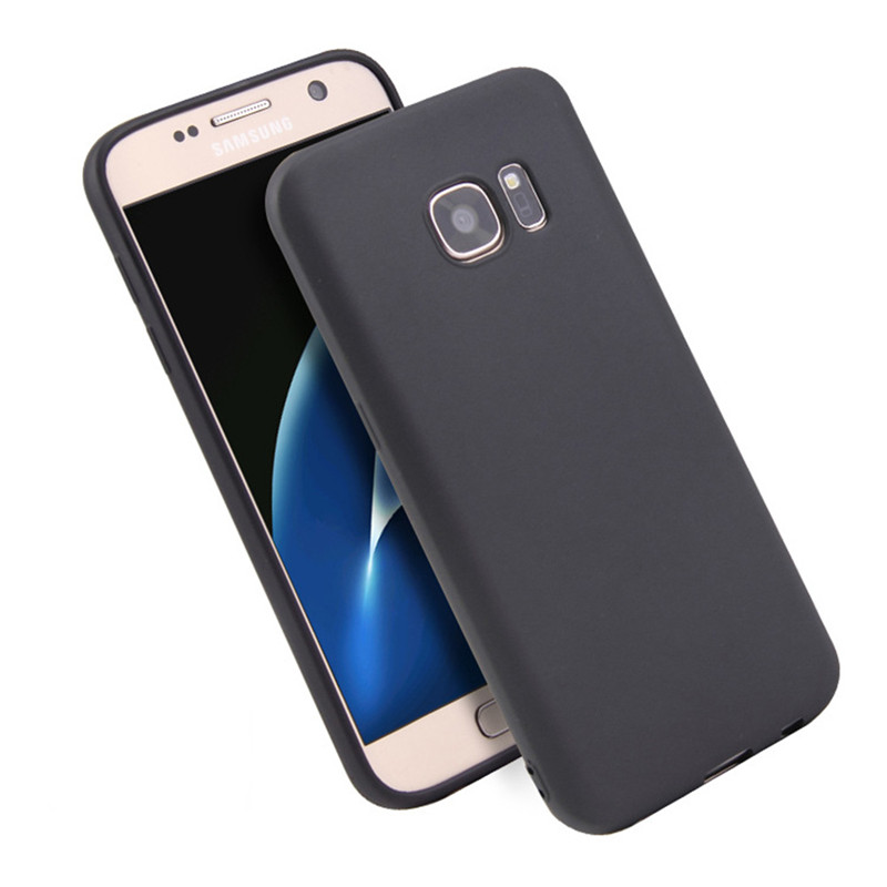 Silicon phone <font><b>Cases</b></font> für Samsung Galaxy A3 A5 A7 J3 J5 2017 S8 S9 Plus S6 <font><b>S7</b></font> Rand C5 C7 c9 Pro Grand Prime Fall Zurück Abdeckung Coque image