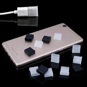 10Pcs Plastic USB male anti-dust plug stopper cap cover protector lids Consumer Electronics