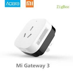 В наличии, Xiao mi Gateway 3 Aqara кондиционер компаньон шлюз illu mi nation функция обнаружения работает с mi Smart Home комплекты