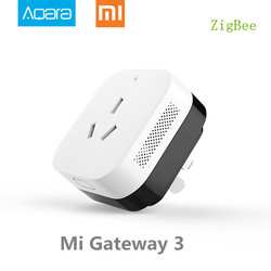 In Stock,Xiaomi Gateway 3 Aqara Air Conditioning Companion Gateway illumination Detection Function Work With Mi Smart Home Kits