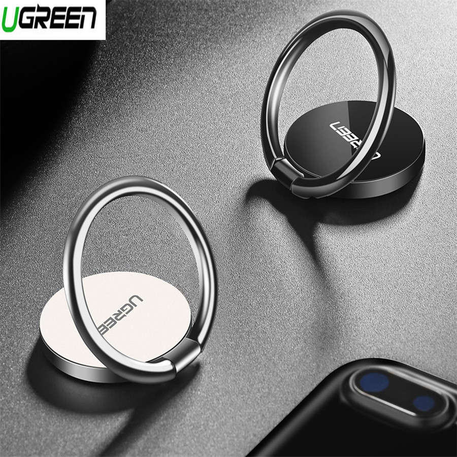 Ugreen Ring For Phone 360 Degree Zinc Metal Holder For iPhone X 7 Plus Universal Phone Ring Desk Stand For Oneplus 5 5t 3 3t