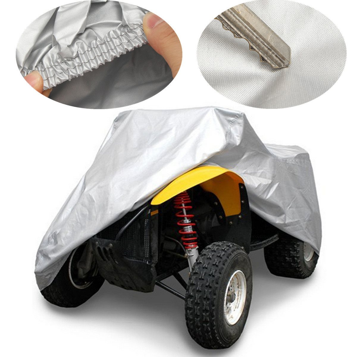 NEVERLAND XL 190T ATV Cover Universal Water Resistant Protector Fits up to 800cc