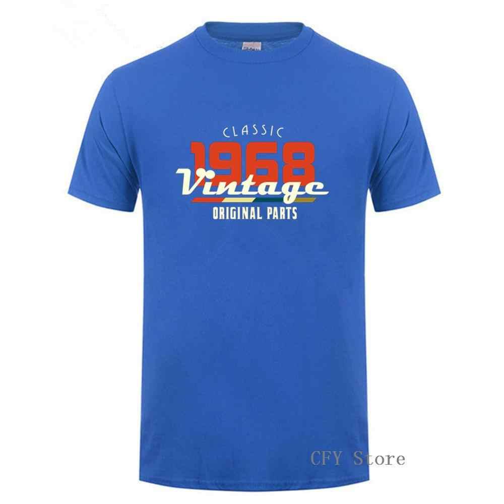2019 ヴィンテージ 1968 古典的な 50 歳の誕生日 tシャツ男性 50th 誕生日 Tシャツ父の日現在の流行ポップ tシャツ