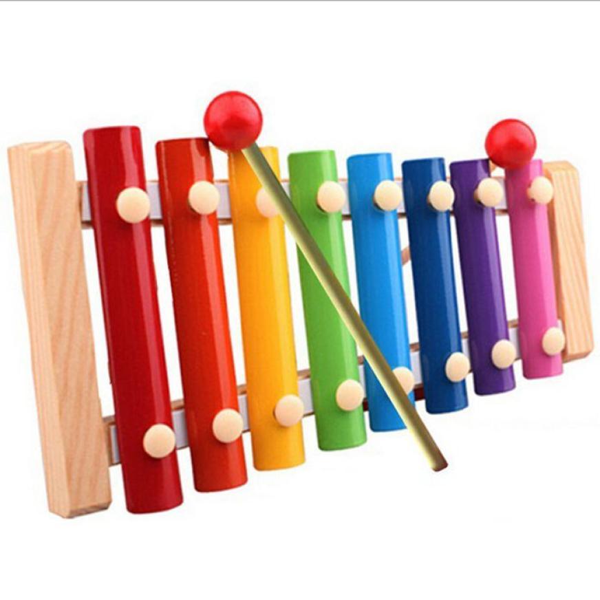 2018 New Wireless Instrument Toys for Girls boy Baby Kid Musical Toys Xylophone Wisdom Development Wood Educational Elephant Toy