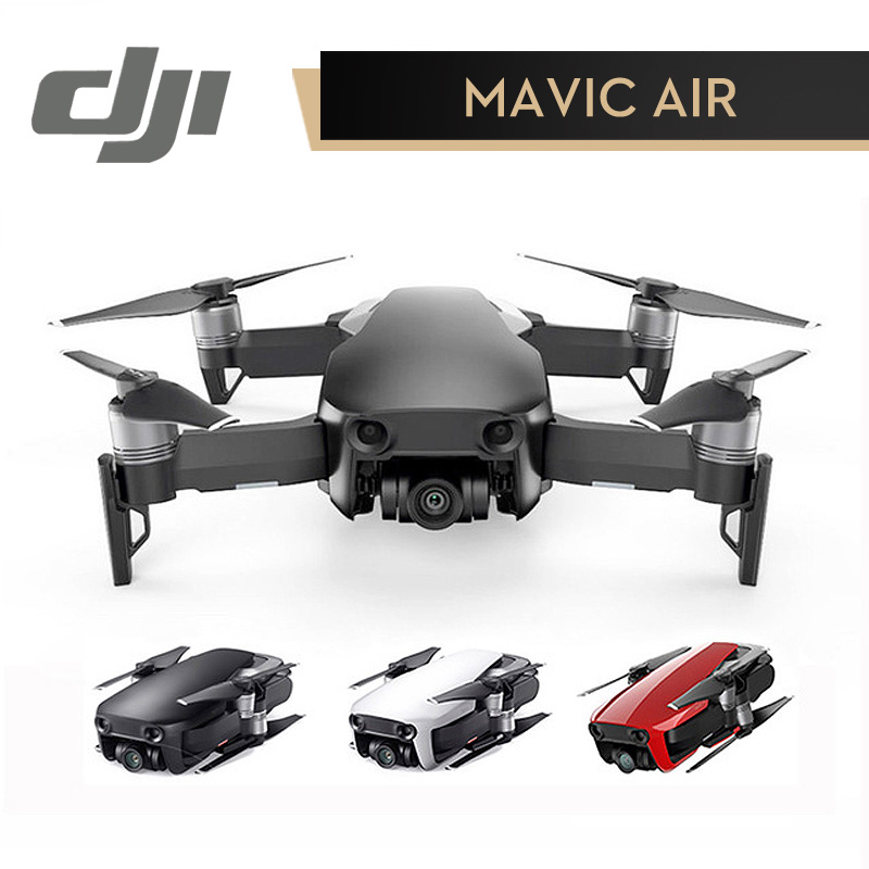 23fb59253ec DJI MAVIC AIR Drone 3-Axis Gimbal with 4K Camera 32MP Sphere Panoramas RC  Helicopter Black Red White ( In Stock )