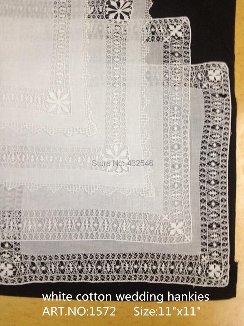 Novelty Women's Handkerchiefs 4PCS/Lot  11x11