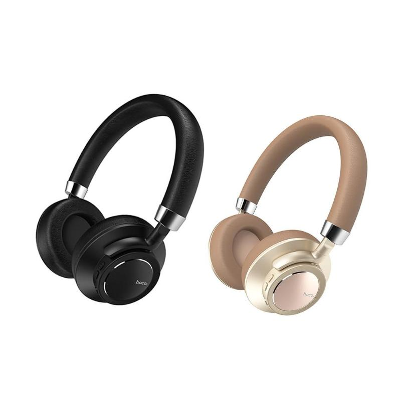 HOCO Universal Bluetooth On-Ear HIFI Stereo Headphone Wired Wireless Nosie Reduction Headset Earphone for Phone PC Laptop New edifier h210 3 5mm in ear hifi stereo earphone headset headphone for cellphone tablet pc