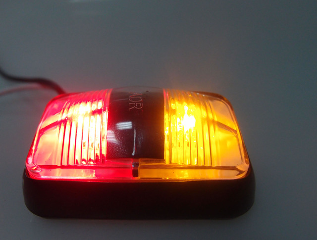10x Adr Red Amber 2 Quot Inch 12v 24v Dc Amber Red Clearance