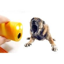 Упрочненный Ультразвуковой Отпугиватель собак, тренировочное устройство против лая, стоп-лай, ультразвуковой отпугиватель для питомцев, собак, отгоняющих порочная собака