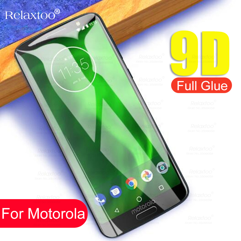 9D Tempered Glass For Motorola Moto G7 Power G6 Play E5 E4 Plus Screen Protector For Moto P30 Note One Power Protective Film 9H image