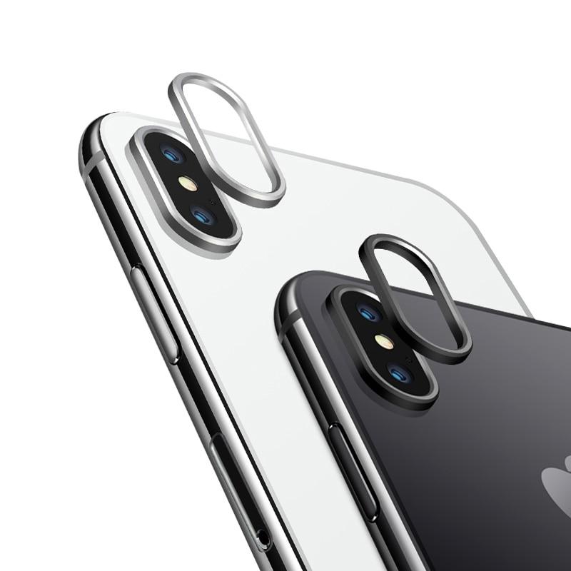 Металлическая защита для объектива камеры 5,8 дюйма для iphone X, защитная пленка для объектива iphone X 10