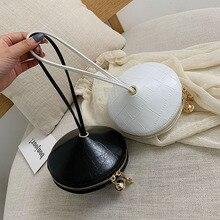 Mode circulaire PU cuir sac à main petit sac rond 2019 cercle sacs petits sacs à main et sacs à main marque téléphone sac partie embrayage