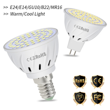 GU10 LED Bulb 220V Spotlight E27 LED Lamp E14 Spot Light Bulb 2835 SMD Corn Lamp 4W 6W 8W Energy Saving MR16 gu 10 LED Ampul B22 led corn bulb spot light bulbs e14 4w 27 5730 smd energy saving lamp pure warm white lighting ac dc 24v