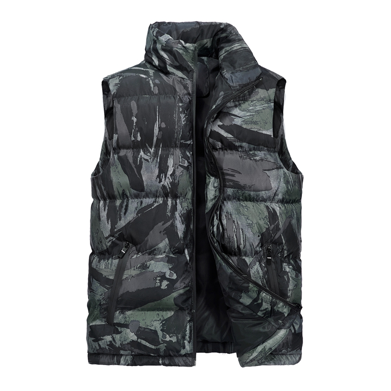 Men\`s Camouflage Vest Winter Sleeveless Casual Outwear Jacket Camo Slim Fit Waistcoat Male Clothing Plus Size M-5XL Chaleco (1)