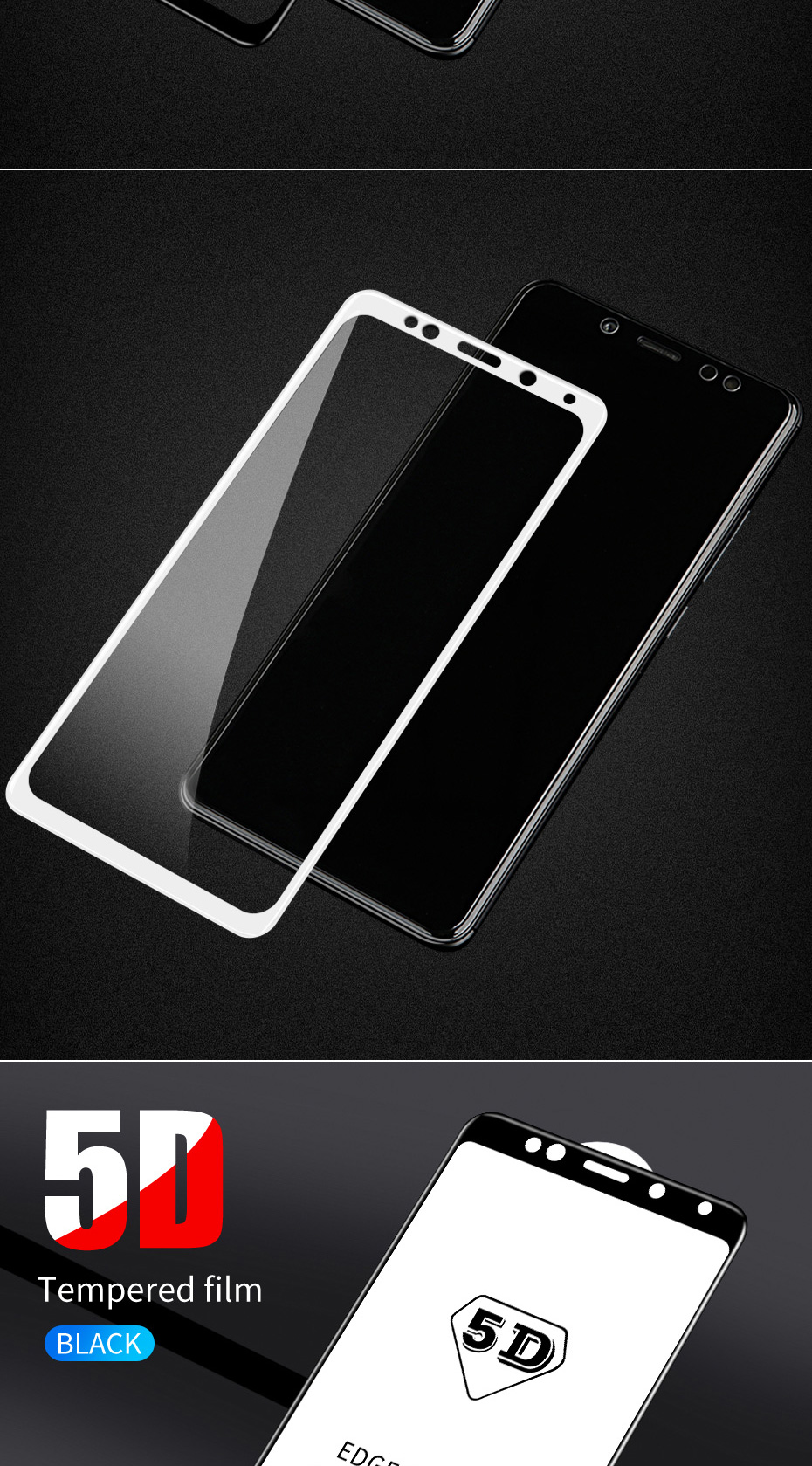 ZNP 5D Screen Protector Tempered Glass For Xiaomi Redmi Note 7 5 Pro Redmi 4X 7A 7 6 Protective Glass For Redmi 5 Plus k20 Film 10