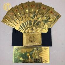 10 шт./лот, цветные российские банкноты, 100 рубля, банкноты hokkey, зимние спортивные игры, подарок, сувенир, деньги для сбора