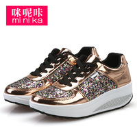 MINIKA Brand 2017 Women Fashion Low Top Platform Casual Driving Walking Flats Swing Ladies Trainers Zapatos
