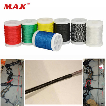 110m Diameter 0.4mm Bow String Serving Thread Bowstring RopeDIY Making Thread for Recurve Compound