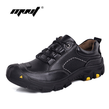 Genuine Leather Men Boots Classic Vintage Ankle Boots Lace Up Outdoor Men Shoes High Quality Autumn Shoes Men shaun ellis the man who lives with wolves