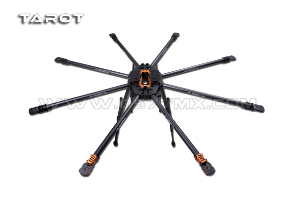 tarot t15 folding eight axis aircraft rack tl15t00 octocopter frame kit for 5dii red epic