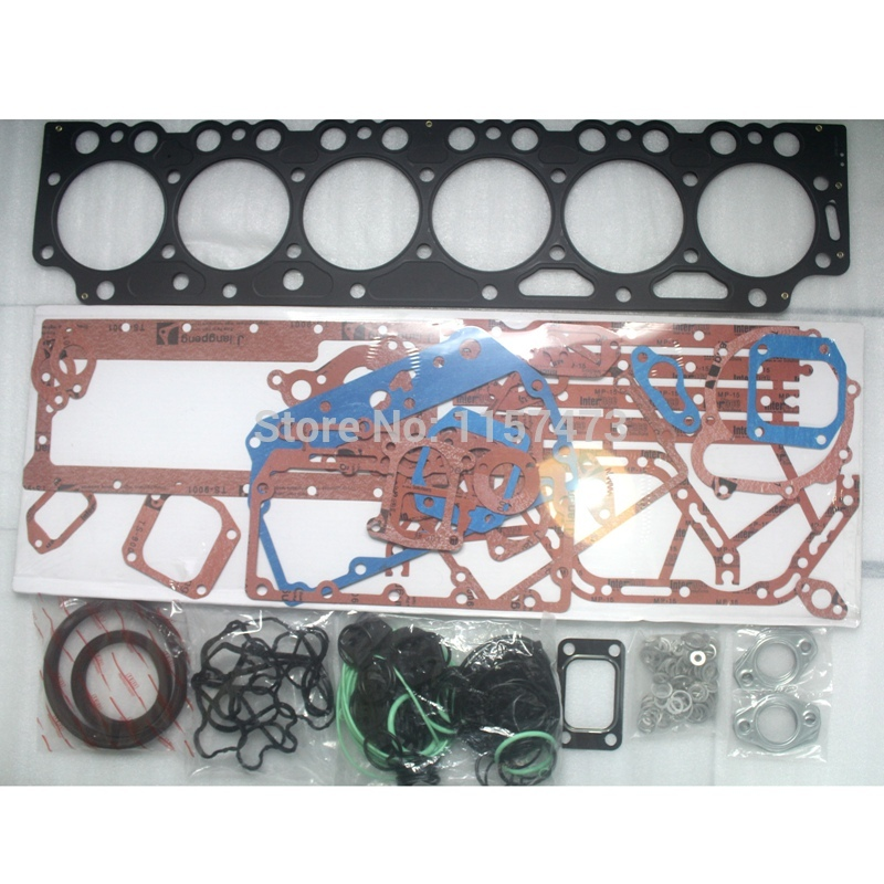 цена на EC460B Engine D7E Overhaul Full Gasket Kit For Volvo Excavator, 3 month warranty