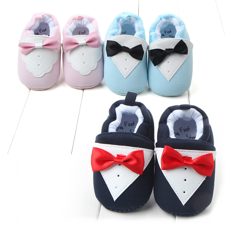 Sweet Winter Newborn Baby Girls Princess Bowknot shoes 3Colors Warm First Walkers Soft Soled Infant Toddler Kids Girl Cack Shoes