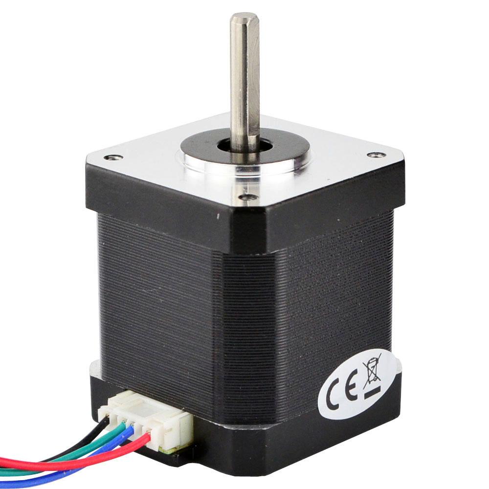 Nema 17 Stepper Motor 45Ncm(64oz.in) 4-lead 1.68A 42x48mm 42 Motor 1m cable 3D Printer CNC Robot цены