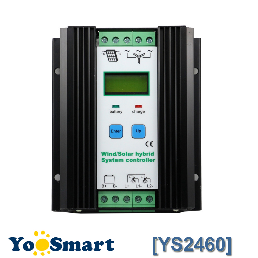 цена на Wind Solar Hybrid Controller 50A 24V 1000W LCD 600W Wind and 400W Solar Panel Economic Solar Wind Hybrid Charge Controller