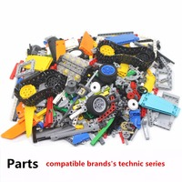 Technic series parts mini assembly building blocks bricks set compatible withLego lepin With motor designer toys for kids