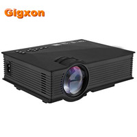Gigxon G46 UNIC UC46 Mini Portable Projector Full HD 1080P Support Red And Blue 3D Effect