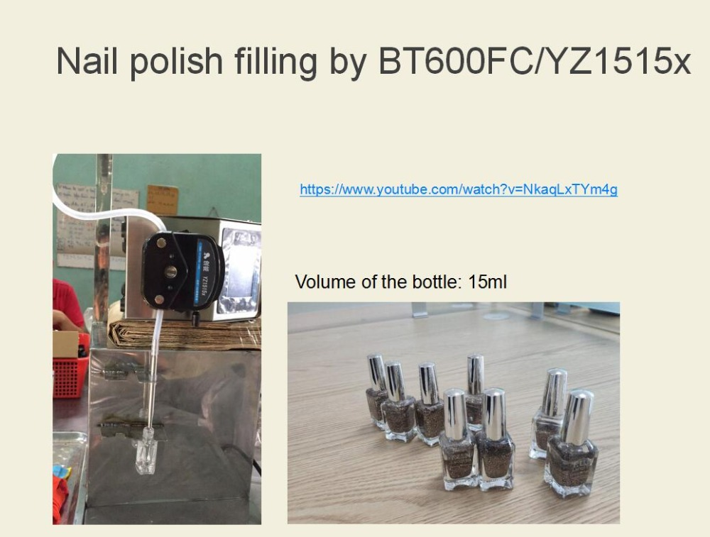 BT600FC filling nail polish