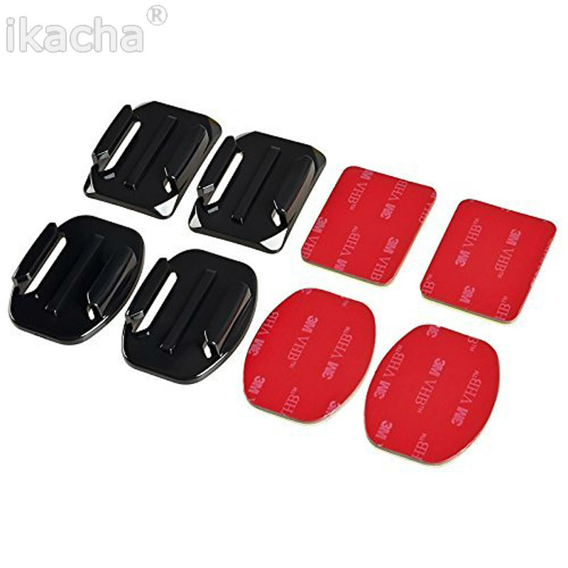 Flat Curved Adhesive Sticker Mount GoPro (7)
