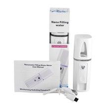 Face Spray Care Health Spa Nano Spray Mist Facial Steamer Beauty Hydrating Water Portable For Skin Ultrasonic Face Beauty Care