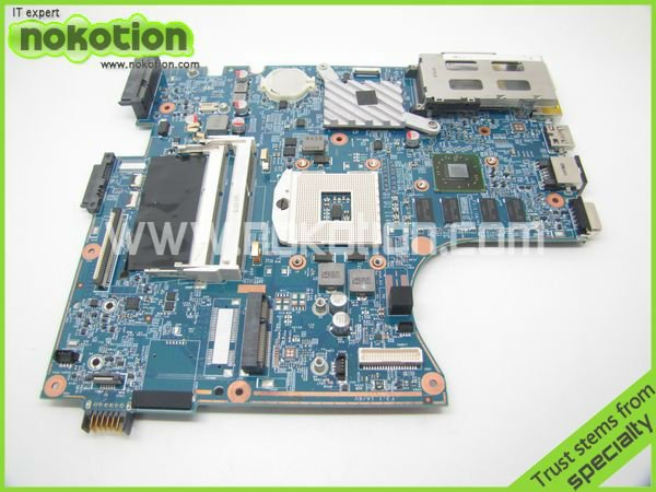 NOKOTION 598668-001 Laptop motherboard for HP 4520S 4720S H9265-1 48.4GK06.011 Intel HM57 DDR3 With Video Chipset Socket PGA989 for hp laptop motherboard 6570b 686976 001 motherboard 100% tested 60 days warranty