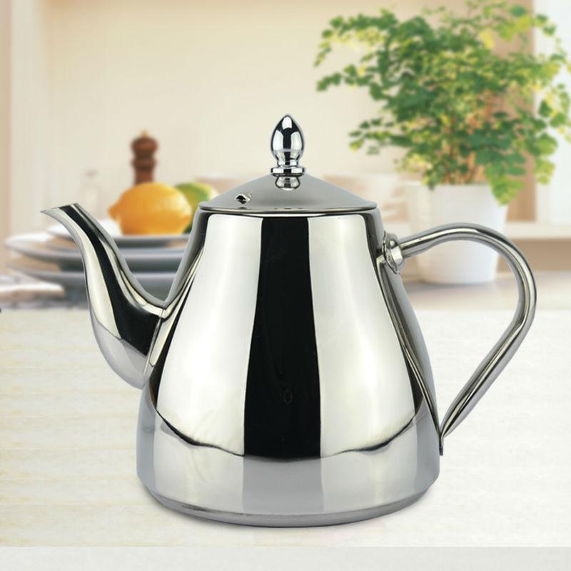 Sanqia 1200ml jaunā stila nerūsējošā tērauda ūdens pudeles ūdens tējkanna dzērienu ūdens pods Piemērotas tējkannas tējkannas virtuves preces